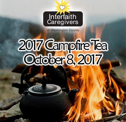 It's Campfire Tea Time!